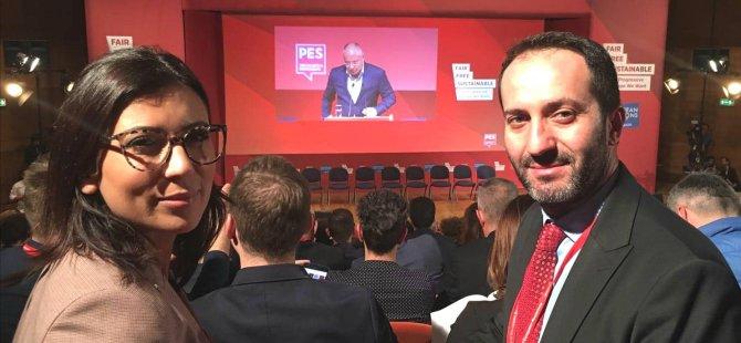 CTP Pes Kongresi'ne katıldı