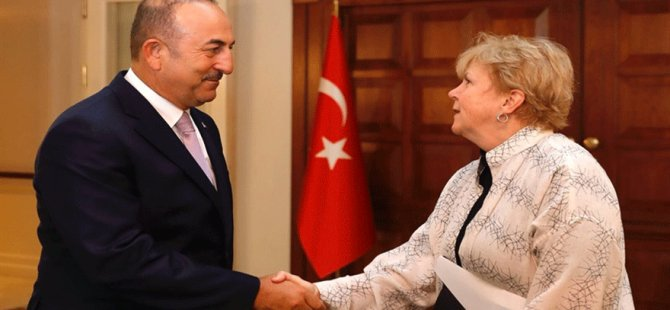 """Çavuşoğlu ile görüşme """"Kilit"""""""