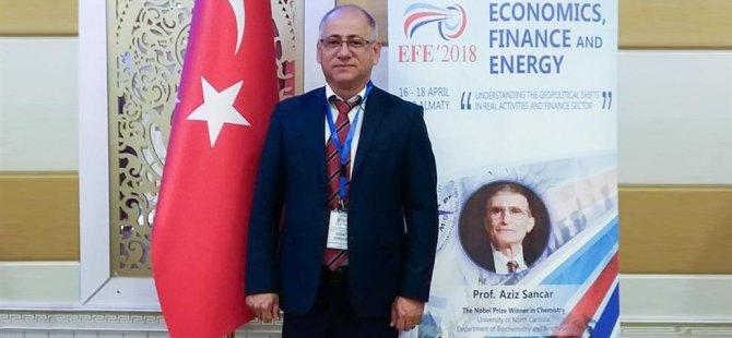 Prof. Dr. Vedat Yorucu, İŞAD'ın davetlisi olarak KKTC'ye geldi