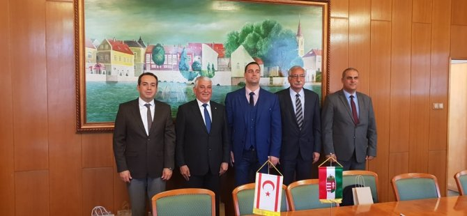 KTBB heyeti Macaristan'da temaslarda bulundu