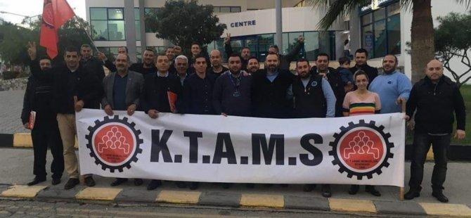 KTAMS, Laü'de yetkili sendika