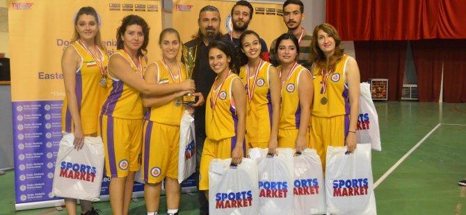 DAÜ uluslararası basketbol turnuvası tamamlandı