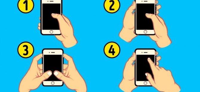 Telefonunuzu nasıl kullanıyorsunuz? (Karakter analizi)