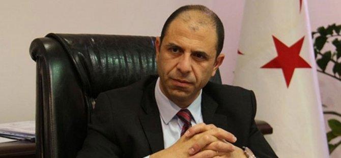 Özersay, Afganistan Dışişleri Bakanı'na taziye mesajı gönderdi.