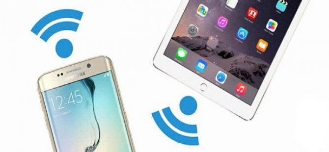 Cepten wifi paylaşımına (hotspot) yeni yılda ek ücret geliyor