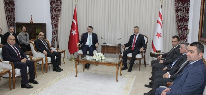 Meclis Başkanı Uluçay, TC Tarım Ve Orman Bakanı Pakdemirli'yi kabul etti