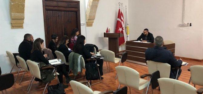 AB'ye proje sunan belediyelerle hazırlık toplantısı yapıldı