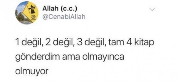 Twitter'ın 'Allah CC'sine 7 bin lira ceza