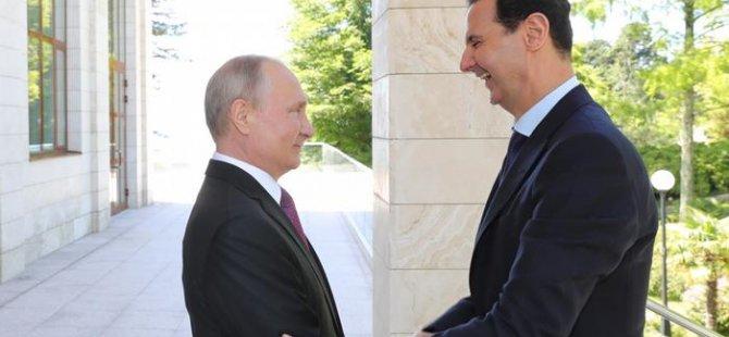 Rusya Suriye rejimi için devrede