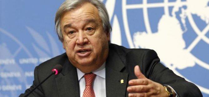 Guterresden yeni yıl mesajı: Dünya stres testinden geçiyor 96
