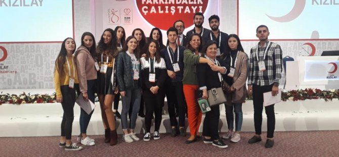 LAÜ öğrencileri Antalya'da Kan Bağışı Farkındalık Çalıştayı'na katıldılar