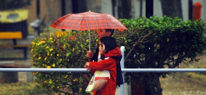 En çok yağış 80 kg ile Sipahi'de