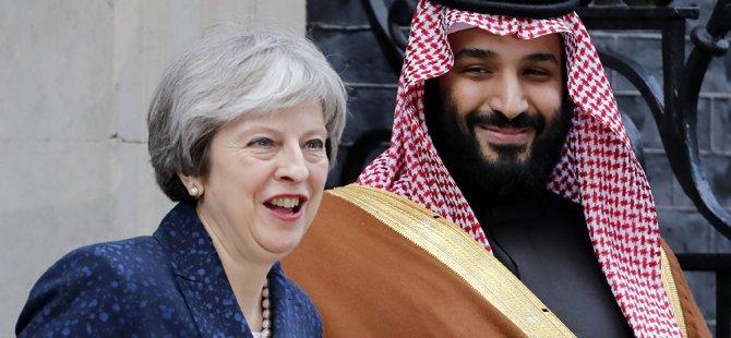 Theresa May'in Suudi Arabistan'ı kınadığı gün, İngiliz heyetinin silah satışı için Riyad'da olduğu ortaya çıktı
