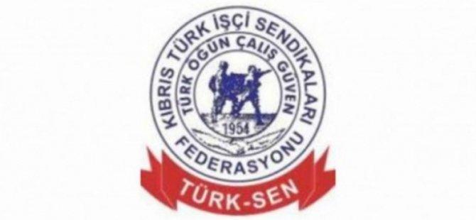 Türk-Sen asgari ücretin ivedi olarak belirlenmesini talep etti
