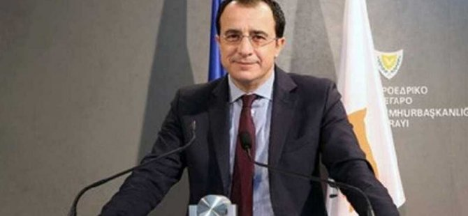"""Hristodulidis: """"2019 Kıbrıs sorunuyla ilgili dönüm noktası yılı"""""""
