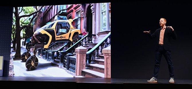 Hyundai 'yürüyen araba' tasarladı