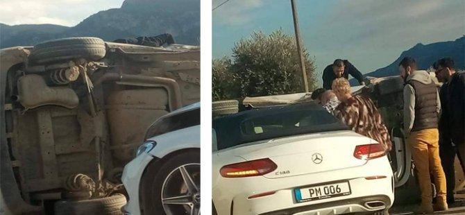 Çatalköy'de trafik kazası (GÜNCELLENDİ)