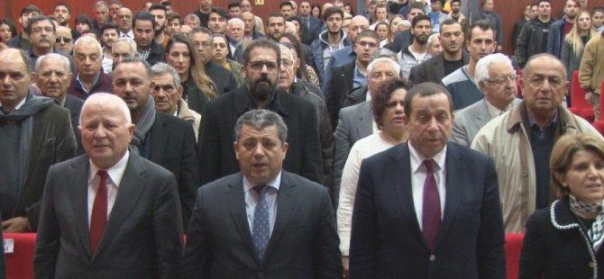 KSTU, Kurucu Cumhurbaşkanı Denktaş'ı anma etkinliği düzenlendi