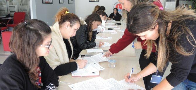 Girne Belediyesi kadın personeli Kıbrıs Kadın Sağlığı Araştırma İnisiyatifi'nin çalışmalarına katıldı