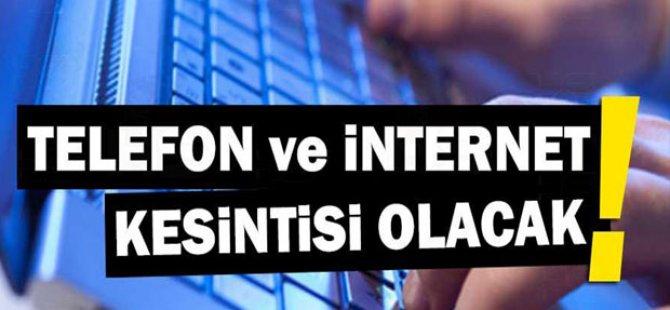 Lefkoşa'da bazı bölgelerde çalışma nedeniyle hafta sonu telekomünikasyon hizmetlerinde kesinti olacak