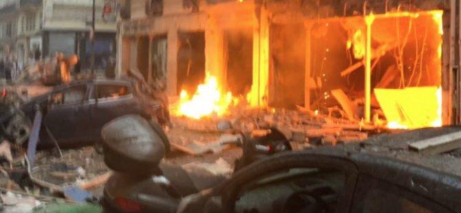 Paris'te patlama! Çok sayıda yaralı var
