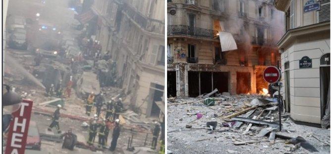 Paris'te büyük patlama: 4 ölü, 36 yaralı