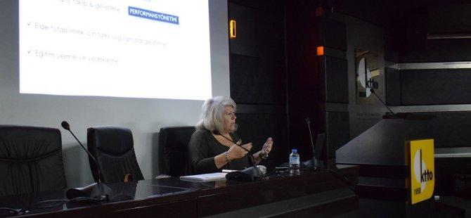"""Kıbrıs Türk Ticaret Odası (KTTO) """"İnsan Kaynakları Yönetimi"""" eğitimi düzenledi."""