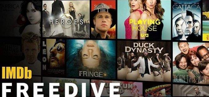 IMDb'den Netflix'e rakip ücretsiz film ve dizi platformu: IMDb Freedive