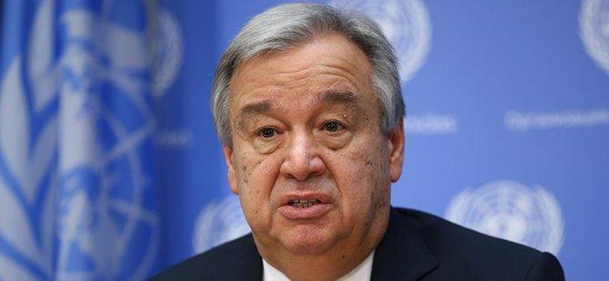 """Guterres: """"Çözüm perspektifleri hala canlı"""""""