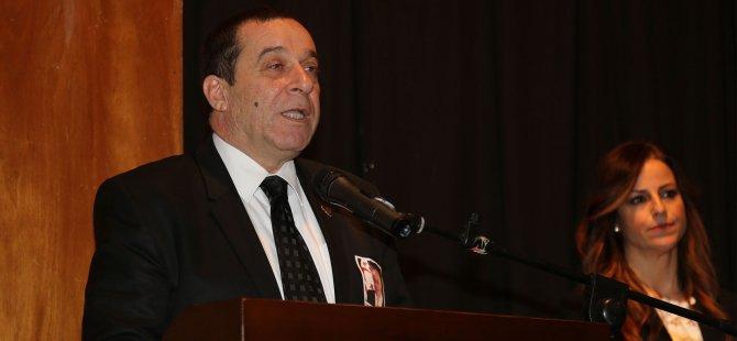 """Denktaş: """" 'Kıbrıs Girit Olmasın' çağrısıyla mücadelenin anadolu ile bütünleşmesi çabası"""""""