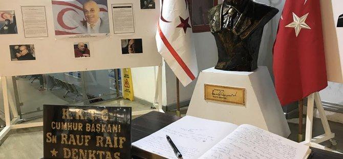 Denktaş Ercan Havalimanı'nda unutulmadı