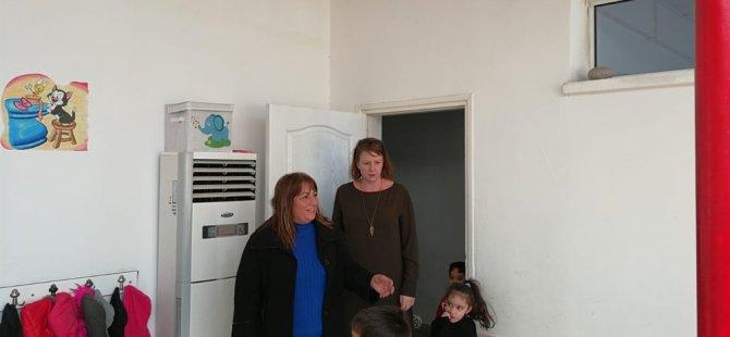 BM Cinsiyet İşleri Sorumlusu Lauren Jane Mcalister SRÖV'i ziyaret etti.