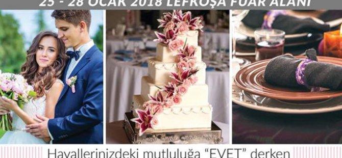 Evlilik ve Düğün hazırlıkları fuarı 24 – 27 Ocak tarihlerinde yapılacak