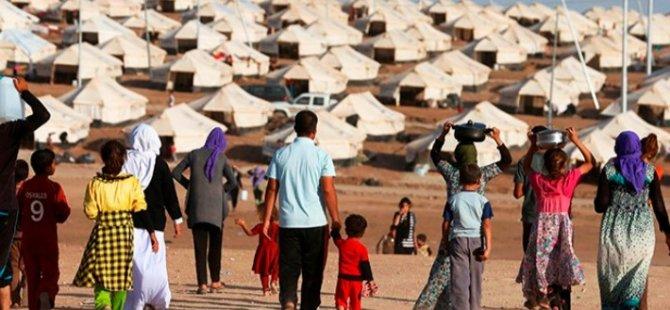 Mülteci kampında yaşayan bir kadın, çocuklarının açlığına dayanamayarak kendini yaktı