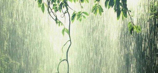 En fazla yağış Tatlısu'da kaydedildi