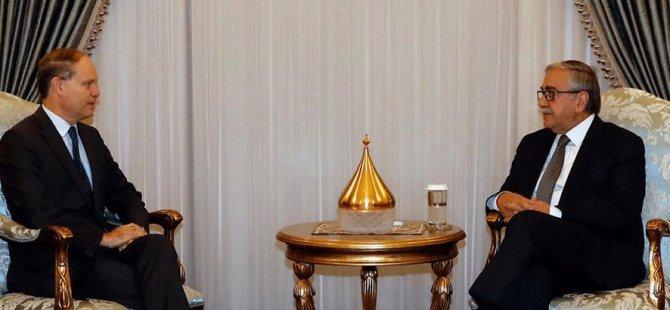 Akıncı, Fransız Büyükelçi Troccaz'ı kabul etti