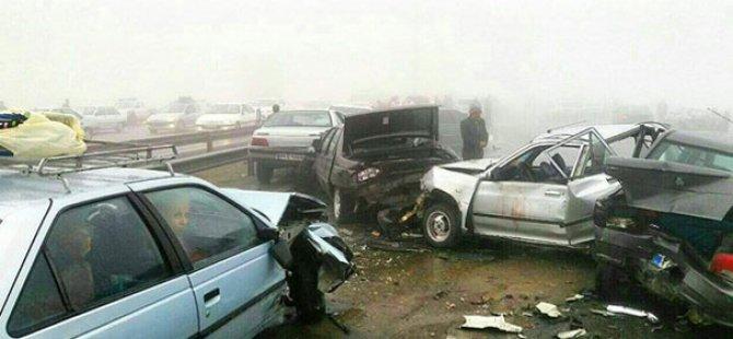 İran'da trafik kazaları yılda 16 binden fazla can alıyor