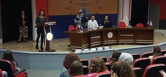 """DAÜ-PDRAM'dan öğrenciler için """"Üniversite Yaşamında İyi Hissetmek"""" semineri"""