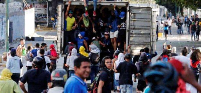 ABD'den Maduro'ya rest: Diplomatları Venezuela'dan çekmiyoruz