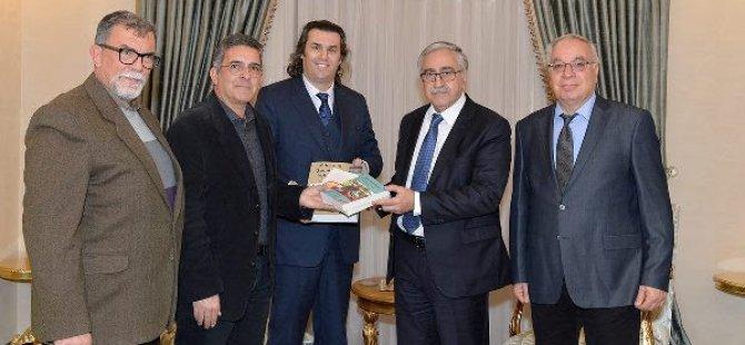 Akıncı, Kıbrıs Türk Yazarlar Birliği'ni kabul etti