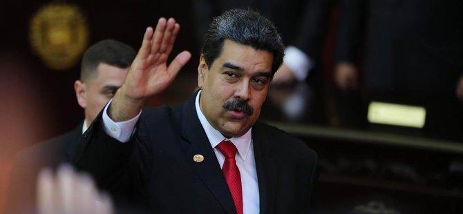 Maduro'dan Türkiye, Rusya ve Çin'e teşekkür
