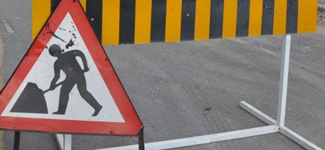 Bu yollar Lefkoşa'da trafiğe kapalı olacak
