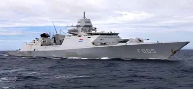 Kıbrıs açıklarında görev yapan Hollandalı denizcilere Türkiye yardımcı oldu