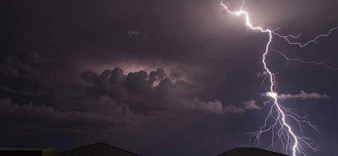 İskele'de yoğun yağışlar etkili oluyor! (Video Haber)