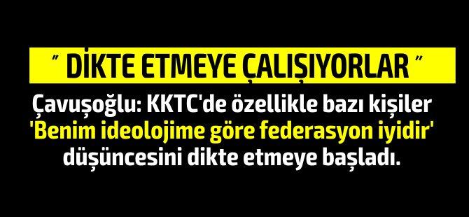 """Çavuşoğlu'ndan ikinci açıklama! """" Bir kişinin siyasi görüşüne Kıbrıs davası feda edilemez."""""""
