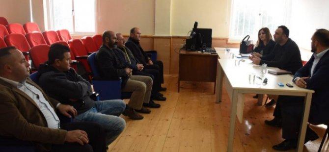 Çalışma ve Sosyal Güvenlik Bakanı Zeki Çeler, Karpaz bölgesinde incelemelerde bulundu