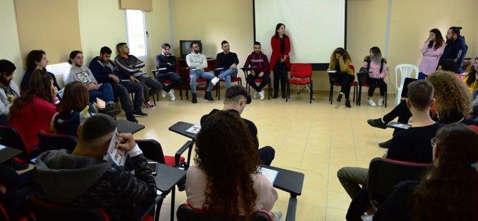 Gençlik Dairesi kış dönemi lider eğitimi Lapta gençlik kampında gerçekleştirildi