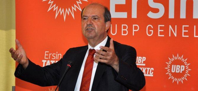 """UBP Genel Başkanı Tatar:""""Rum ortaklık istemiyor"""""""