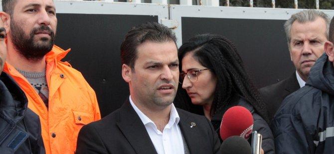 Haksen Bakan Oğuz ile bürokratlarına teşekkür etti