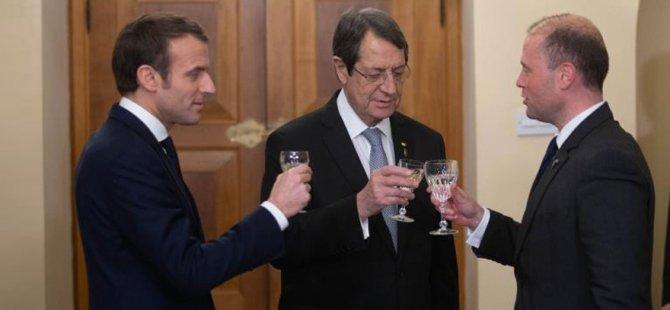 Fransa,İtalya ve Güney Kıbrıs arasında Enerji ve Savunma anlaşmaları